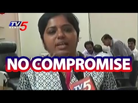 Medak District Collector Bharathi to Take Strict Actions on Pending Works | TV5 News