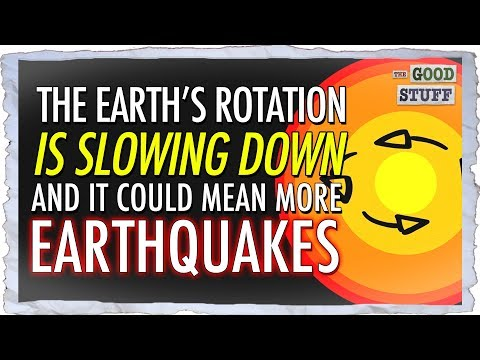Earth's Rotation is Slowing Down! And It Could Mean More Earthquakes!