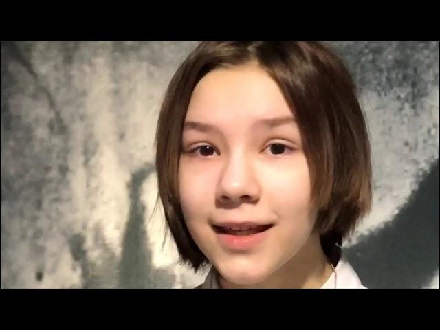 Изображение предпросмотра прочтения – ВарвараТарасова читает произведение «Девочка - смерть» М.И.Цветаевой