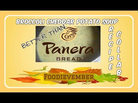 Better Than Panera Broccoli And Cheddar Soup | Recipe Collab | Ladi Lovely