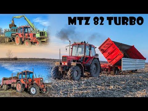 Trágyaszórás | mtz 82 turbo + 2x mtz - t088+ra80 | weimar | spreading manure 2020 mp3