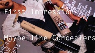 First Impression: Maybelline Concealers Thumbnail