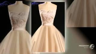 Классическая шампанское платье выпускного вечера платье милая кружевные аппликации женщины(, 2016-01-31T04:09:53.000Z)
