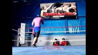 CHAPULIN VS JACKIE NAVA SPARRING 2DO  ROUND.