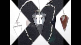 Wholesale Gemstone Pendulums, Reiki Pendulums Chakra Pendulums - Globalenterprise.net