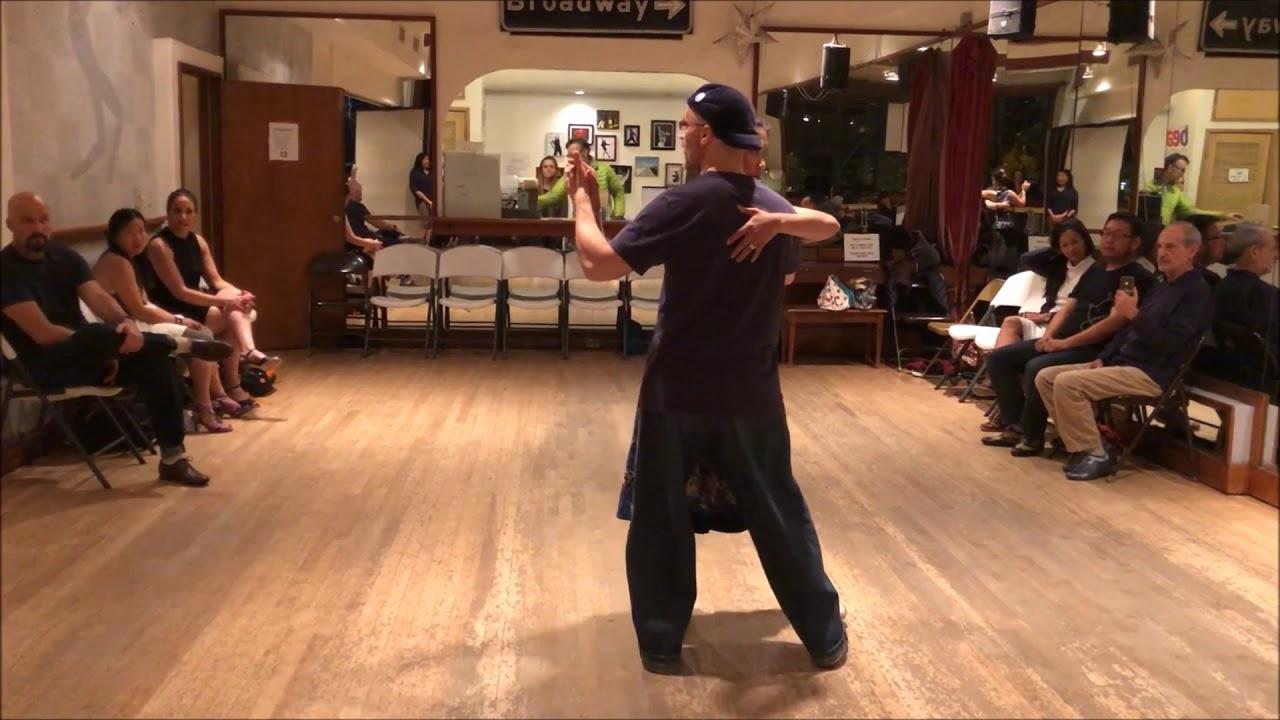 Tango Lesson: Rhythmic Small Steps in Tango - YouTube