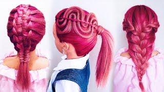 ★Красивые прически для девочек★Необычные прически в школу★Back To School Hairstyles★LOZNITSA