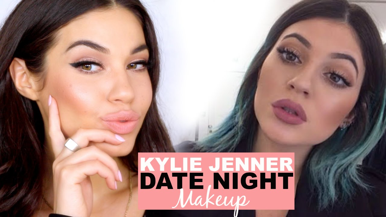 Kylie Jenner Date Night Makeup | Drugstore Makeup Tutorial | Eman - YouTube