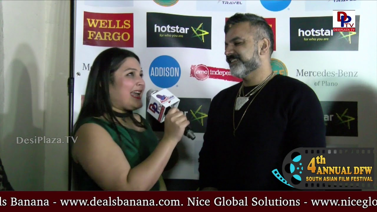 Arshad Khan, Pakistani Canadian film maker, director of Film Abu, speaking to Desiplaza TV