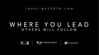 Where You Lead, Others Will Follow