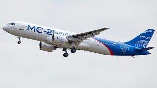 Самолет МС-21 совершил первый полёт в Иркутске