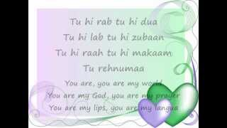 Tu Hi Rab Tu Hi Dua-Lyrics and English Translation(Dangerous Ishq)