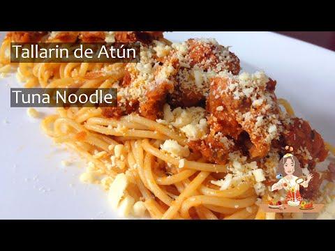 Tallarín De Atún //  Tuna Noodle