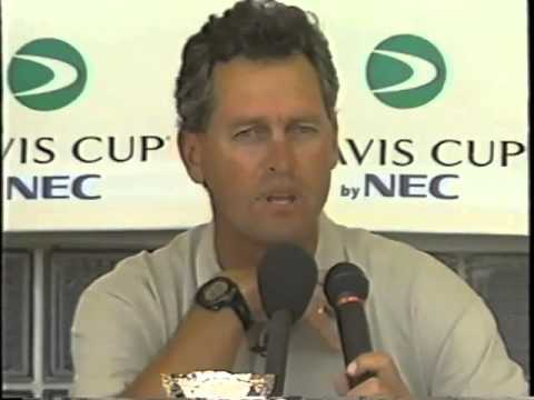 1999 U.S. Davis Cup Team Press Conference - South Beach Style