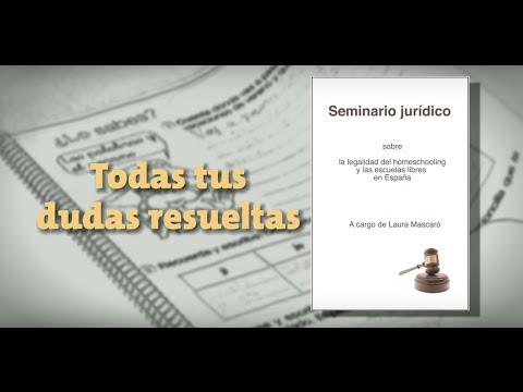 ¿Es legal educar en casa en España? - Seminario online a cargo de Laura Mascaró