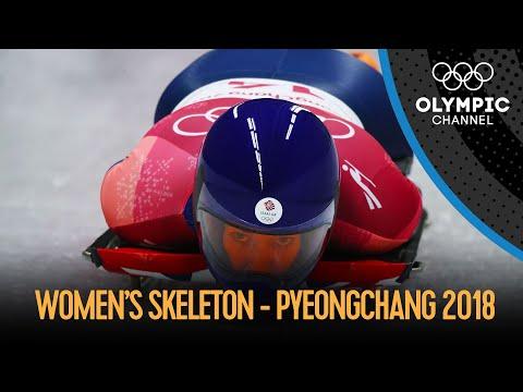 Women's Skeleton - Final Run | PyeongChang 2018 Replays