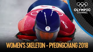 Women's Skeleton  Final Run | PyeongChang 2018 Replays