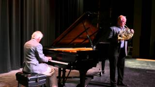 Jeffrey Agrell (French Horn) & Werner Elmker (Piano) on the Wholetone Scale
