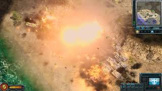Command and Conquer Red Alert 3 : General Evolution mod : Mission Crysis in the Coast