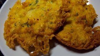 Tortillitas de bacalao crujientes