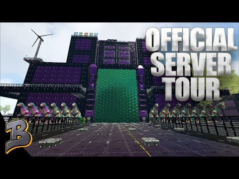 Touring Ark PVE Official Servers!