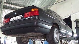 BMW e34 ВОССТАНОВЛЕНИЕ. Ходовка в ИДЕАЛЕ. Ставим НОВЫЙ мотор!