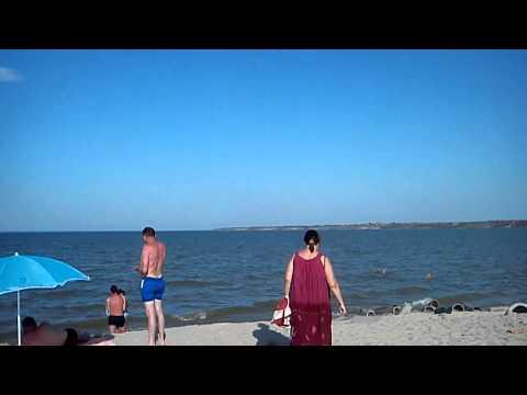 Павло-Очаковская коса.Пляж.Отдых.Азовское море