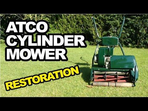 ATCO Cylinder Lawnmower Restoration | Self Propelled