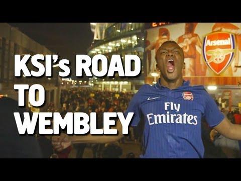 KSI's Road To Wembley | Arsenal v Bayern Munich