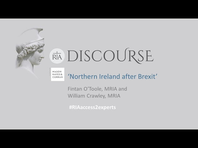 Academy Discourse Northern Ireland after Brexit