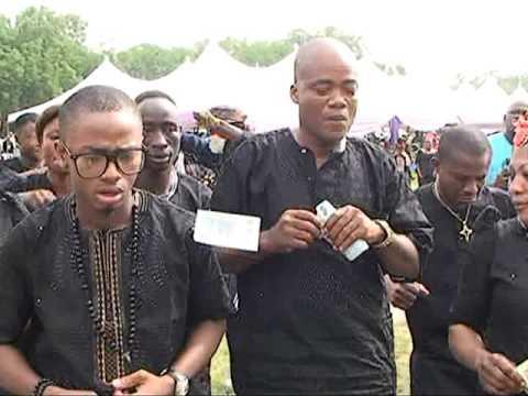 Tony Kabaka's mother burial 8