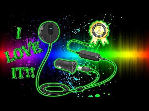 The Best Car Bluetooth adapter for $25 Besign Bluetooth 4.1 Car Kit Hands-Free Wireless Talking BK01