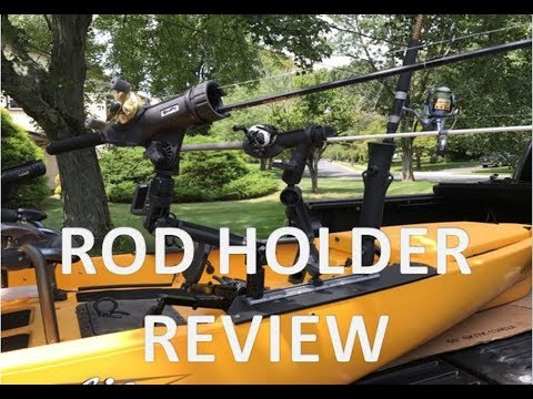 Kayak Rod Holder Review - Ram And Scotty