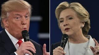 Watch the Final Clinton-Trump Debate (Full Debate - 10/19/16) Democrat Hillary Clinton and Republican Donald Trump met for the third presidential debate in Las Vegas Wednesday, Oct. 19, the last debate before voters go ...