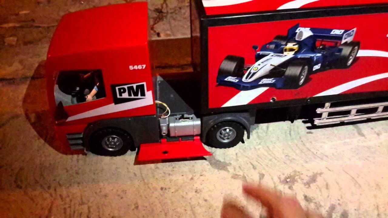 Camion playmobil y caja custom youtube - Playmobil camion ...
