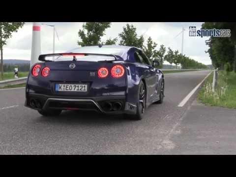 2017 Nissan GT-R - Launch Control / 0-180 km'h - AUTO BILD SPORTSCARS