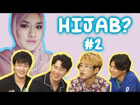 Cover Lagu REAKSI IDOL KOREA TENTANG CEWEK INDONESIA PAKAI HIJAB Ep.2!! HITSLAGU