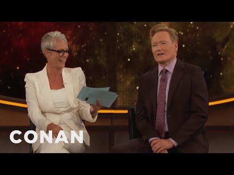 Jamie Lee Curtis Gives Conan The Comic-Con® Citizenship Test  - CONAN on TBS