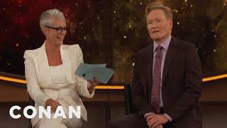 Jamie Lee Curtis Gives Conan The Comic-Con® Citizenship Test  - CONAN on TBS