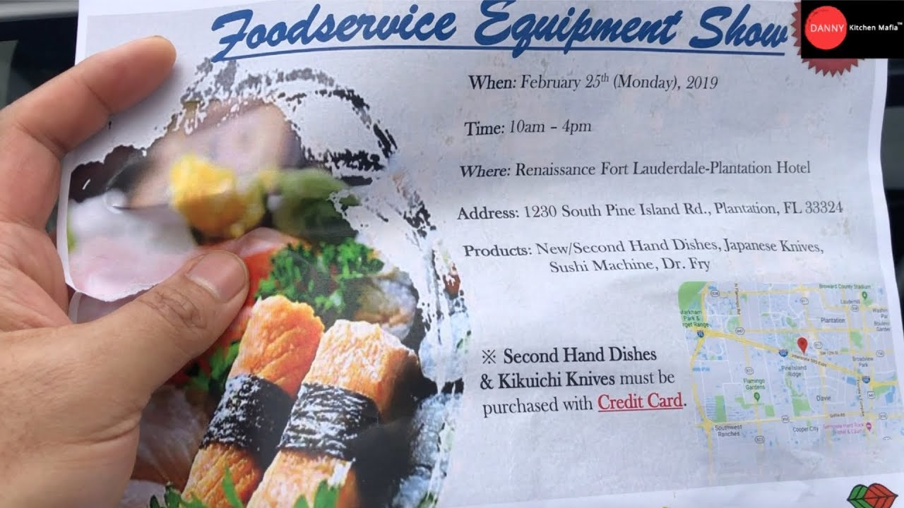 Outside Kitchen Series: FoodService Show by Wismettac , Miami