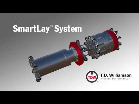 T.D. Williamson - SmartLay™ Pipeline Flood Prevention System