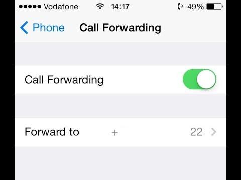 iPhone Call Forwarding Setup - YouTube