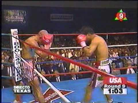 Ricardo kojak Silva vs Miguel Angel Gonzales titulo mundial ligero CMB ROUND9