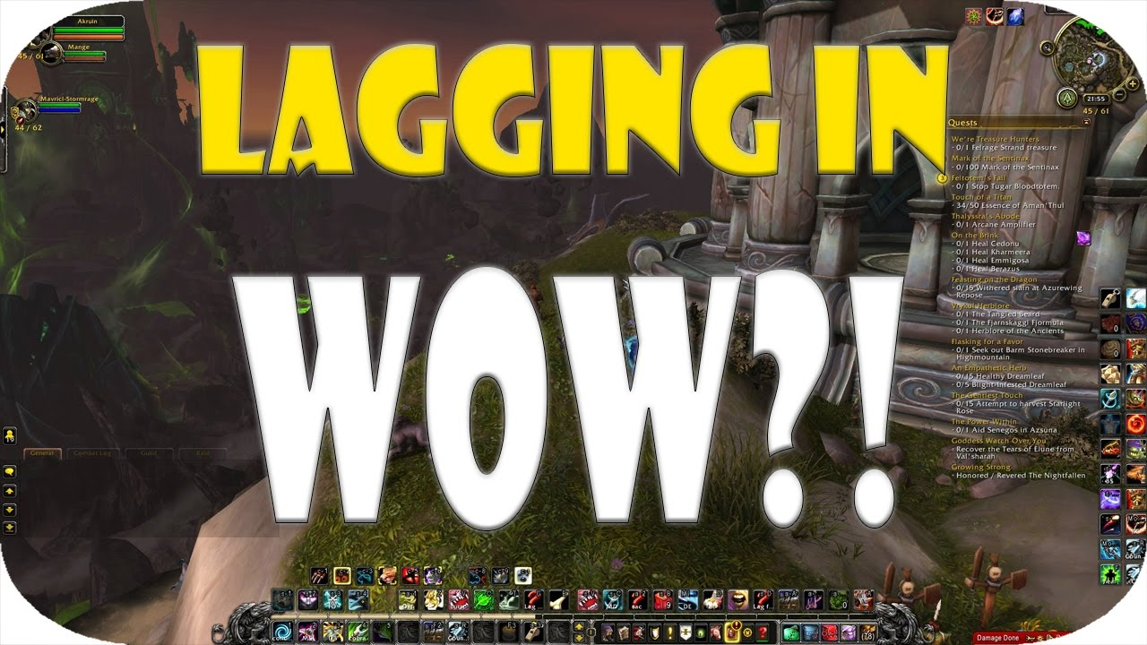 Lagging wow windows 10