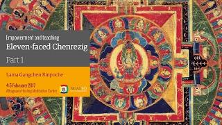 Eleven-faced Chenrezig Empowerment and teaching (English – Italian) – 4/5 February 2017