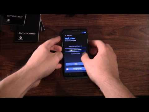 Droid Maxx Unboxing