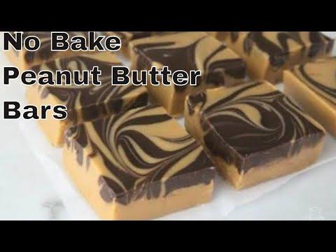 No Bake Chocolate Peanut Butter Bars/Tiger Butter Recipe/Easy Chocolate Fudge Recipe/Kadians Kitchen