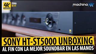 Sony HT-ST5000 7.1.2 Atmos Soundbar Unboxing ¡¿Al fin con la mejor Barra de Sonido entre manos?!