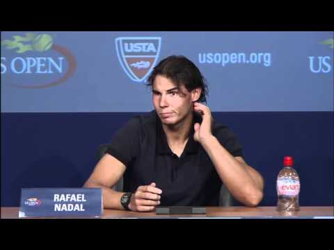 2011 US Open Press Conferences: Rafael Nadal (Finals)
