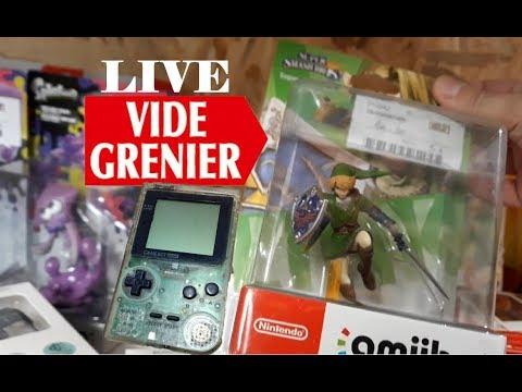 vide-grenier-live---brocante-/-des-amiibo-neuf-et-une-console-retro-portable-!